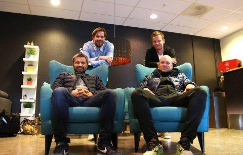 Spelarutviklar Jan Tore Jåstad og trenarutviklar Marius Bøe frå fotballkretsen er gjester i den tolvte utgåva av Radl om badl.