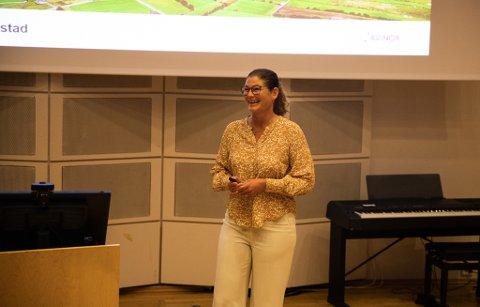 - Å være leder handler om å holde hjertet varmt og hodet kaldt, sier lufthavndirektør Anette Sigmundstad.