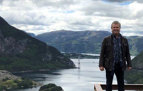 UTVIDER: Tom Bjarte Norland ser frem til fire nye hytter til i «The Bolder»-feltet.