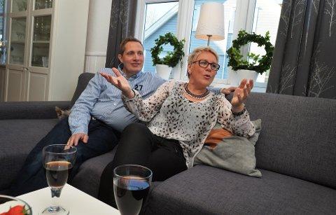 I dag er Jan Vidar og Hege Gundersen nesten der de ønsker å være vektmessig. Foto: Per Gilding