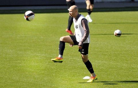 INN: Det meste tyder på at Jone Samuelsen spiller fra start når Tromsø kommer til Skagerak arena mandag. FOTO: KRISTIAN HOLTAN