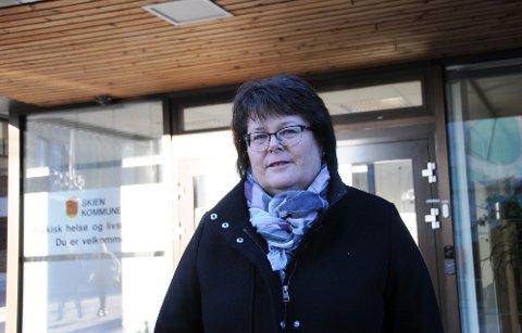 MYE Å GJØRE: Fagsjef Hilde Marianne Kristoffersen og kommunens team innenfor psykisk helse har travle dager.