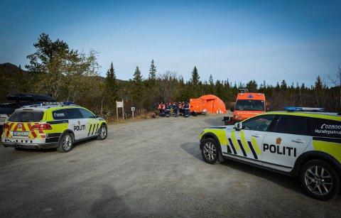 FUNNET OMKOMMET:  Mange har bidratt til søket etter kvinnen som ble meldt savnet 17. oktober. På ettermiddagen 31. bekrefter politiet at kvinnen ble funnet omkommet.