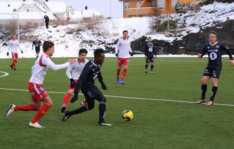KBK spilte 1-1 mot Levanger lørdag. Foto: Anders Tøsse