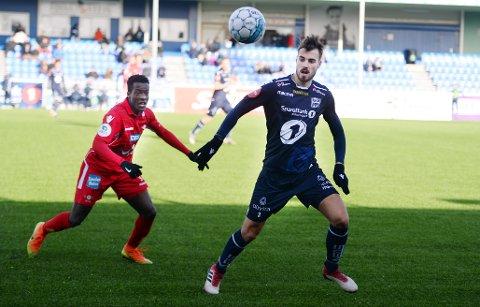 Christoffer Aasbak og KBK vant mot Levanger lørdag.