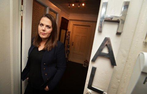 SKEPTISK: Lene Westgaard-Halle er skeptisk til sammenslåing med Telemark.