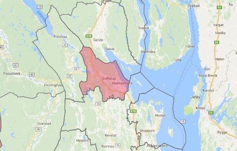 kart strømmen Jarlsberg Avis   Nær 1.200 kunder i Holmestrand mistet strømmen