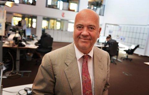 VIL HA DIN HISTORIE: Tønsbergs Blad og ansvarlig redaktør Sigmund Kydland, skal sammen med flere av Amedias aviser, fortelle metoo-historiene fra hele landet.