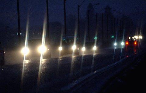 UNDERKJØLT: På morgener og kvelder midt i uka, kan det være fare for underkjølt regn. Bilister bør passe på.