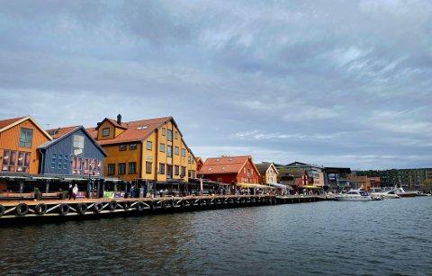 BRYGGA: Brygga på Tønsberg, og kortere reisetid til Oslo, det er to av faktorene som vil gjøre at boligprisene eksploderer i Tønsberg.