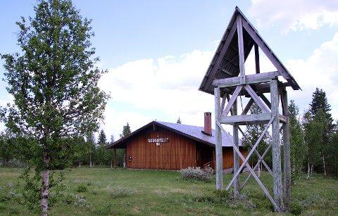 VESTÅSKAPELLET:  Bygd på Skrikkarvøl'n for 50 år siden.