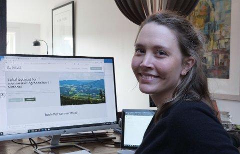 AVLYSER: Leder Monica Torp Olufsen i Nittedal næringsforening vurderte å gjøre Næringslivets dag til en digital konferanse. Usikker økonomi i prosjektet gjør at arrangementet i år er avlyst.