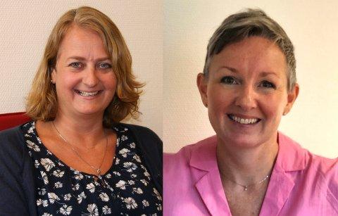 Hanne Sedberg blir ny avdelingsdirektør for «HR- og servicepartner», mens Tone Størseth blir ny avdelingsdirektør for «Samfunnspartner».