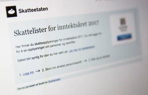 Tirsdag morgen offentligjøres skattelistene for 2019. Følg med på amta.no. for et dypdykk i tallene.