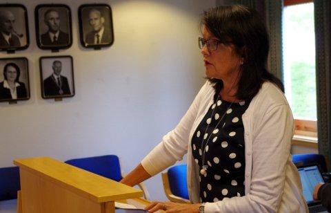 Olov Grøtting, i kommunestyret for Senterpartiet.
