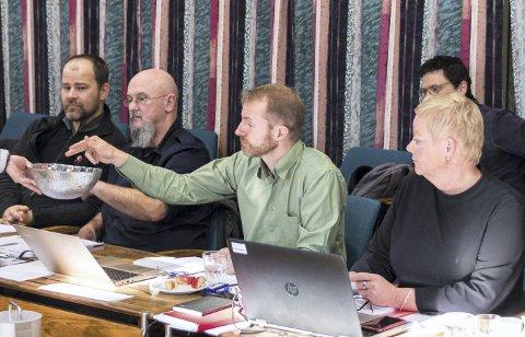 På vippen: Støtten fra Germain Schmid og MDG ble avgjørende for at Refstie får fortsette som sunndalsordfører.