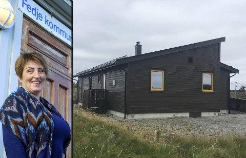 VIL HA BREIBAND: Ingebjørg Vamråk får ikkje breiband i den nye heimen sin på Fedje. Ho er svært skuffa over måten ho er vorte behandla av Telenor. FOTO: PRIVAT