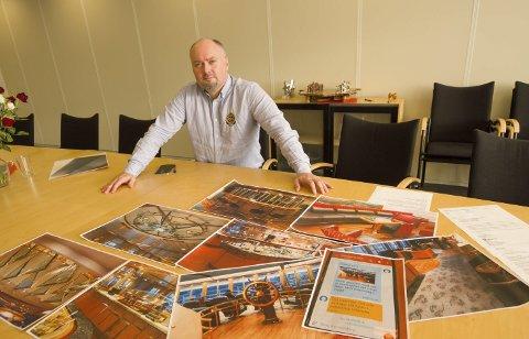 KRISE: Stig Otto Nilsen får inn flere hundre biler etter konkurser. Arkivfoto.