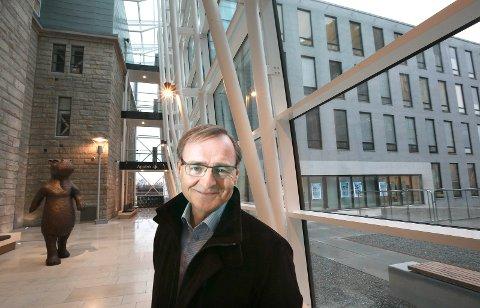 Toppsjefen i Helse Nord Lars Vorland foreslår i sin innstilling til styret at det opprettes en PCI-tilbud ved Nordlandssykehuset i Bodø. Bildet er tatt ved en tidligere anledning.
