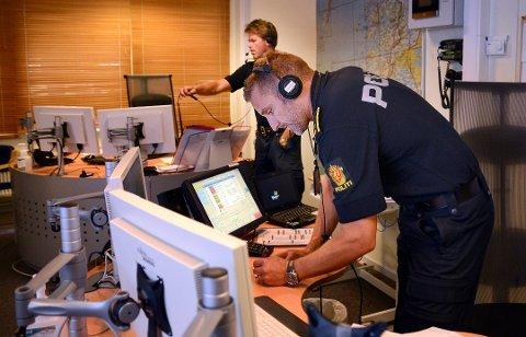 Flytter: Politiet flytter fra lokalene i Bodø politihus til Albertmyra. Bildet er fra den gamle operasjonssentralen.