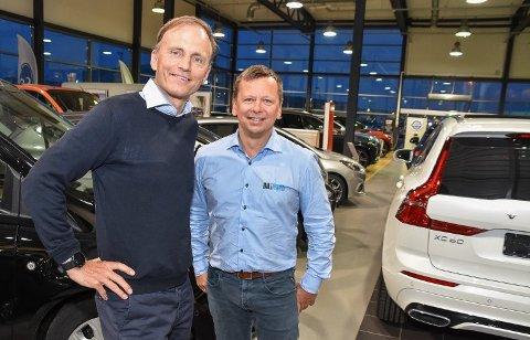 Ambisjoner: E i Nord AS er en del av Bil i Nord-konsernet til Thor Drechsler. Verken han eller Tommy Wårheim Seim har satt noe tak på ambisjonene for eiendomssatsingen.