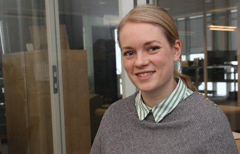 Monica Novik Tennfjord (30) er ansatt som ny daglig leder i Iris Service.