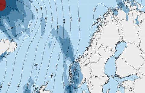Sol i vente: Etter dager med mye snø i Salten-området, venter nå flere dager med pent vær.