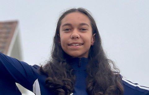 Leah Anett Hemmingsen (12) fra Bodø.
