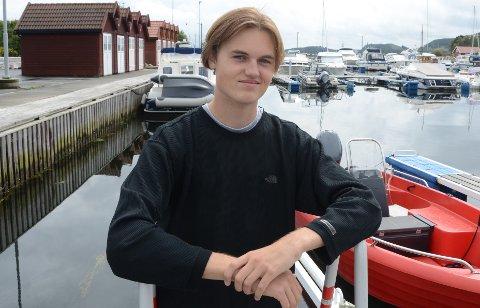Ung folkevalgt: Snorre Solheim Sokn fra Askje har fått fast plass i det nye Stavanger kommunestyre.