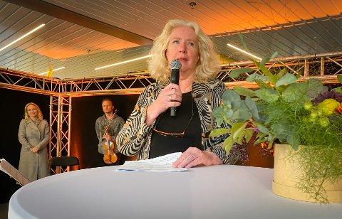 Linnea Blakèus Calder var på plass da helsesenteret hadde sin offisielle åpning fredag.