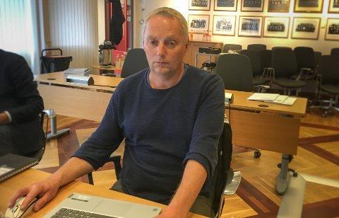 Fornøyd: Tomas Mørch (KrF) fikk gjennomslag i kommuneplanutvalget for at kommunen i mekling med Fylkesmannen ikke skal fire på antall parkeringsplasser på Europris-tomta på Randabergveien 333.
