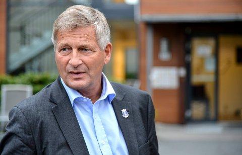 ENGASJERT: Ordfører Tore Opdal Hansen.