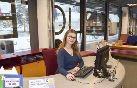 Bibliotekar: Anne-Line Hovind jobber til daglig som fagleder barn og unge ved biblioteket i Kongsberg.