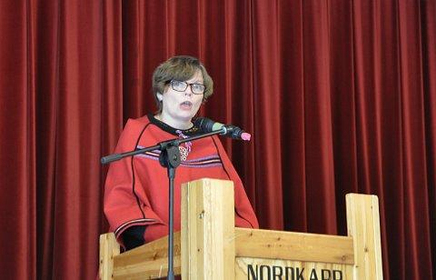 Nestleder for Fagforbundet Finnmark, Jorunn Mikkelsen.