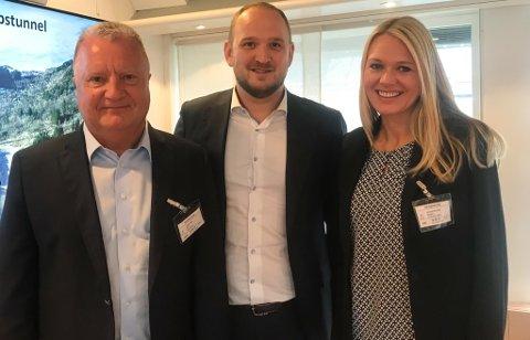 F.v. Rolf Dombestein, Jon Georg Dale og Randi Paulsen Humborstad