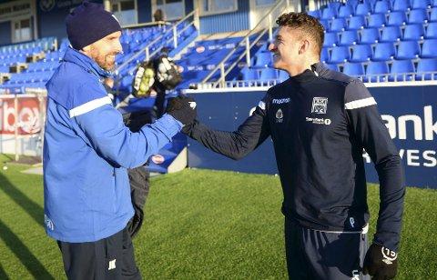 PRØVESPILL: Youssef Chaib har denne uka vist seg fram for trener Joakim Klæboe og Kristiansund BK.