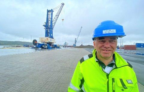 Havnedirektør Tore Lundestad venter på å komme i gang med opprustingen av farleden til Borg Havn. Han er overrasket og skuffet over at det ikke er satt av penger i statsbudsjettet.
