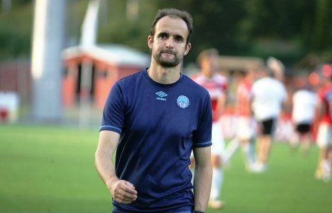 OPPGITT: KIL-trener Vitor Gazimba.