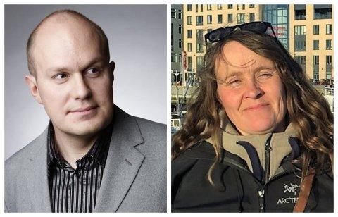 SØKERNE: Øyvind Fredin (37) som bor i Moss og Astrid Marie Sæther (50) fra Dalsbygda i Østerdalen har søkt jobben som diakon i Sel.