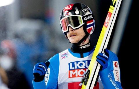 Robert Johansson vant søndagens verdenscuprenn i storbakken Lahti i Finland.
