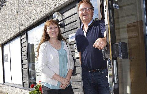 NYTT KURS: Kari Isingrud og Dagfinn Edvardsen inviterer til etablererkurs i Hadelandshagen, med oppstart 10. oktober.