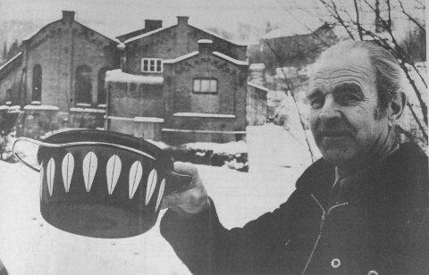Kunne overlevd: Sigurd Johansen var klubbformann på Cathrineholm i de siste dramatiske åra. Da HA foretok et tilbakeblikk fem år etter nedleggelsen, sa han at bedriften nok kunne av overlevd, dersom stanseriet hadde blitt bygget opp igjen på holmen i Tistedal, i stedet for at det ble satset på et kostbart industribygg på Sørlifeltet.