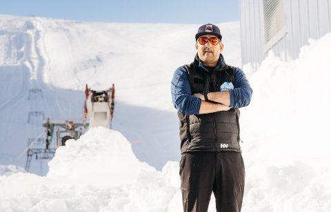 Positivt overraska: Dagleg leiar i Visit Fonna, Michael Iversen, er strålande nøgd med sesongen så langt. Arkivfoto: Julius Braathen