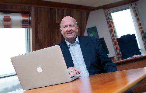 ØKER: - Behovet for investeringer i nettet er store i de kommende år, sier konsernsjef Olav Linga i Haugaland Kraft.