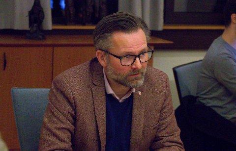 Ordfører Jarle Nilsen.