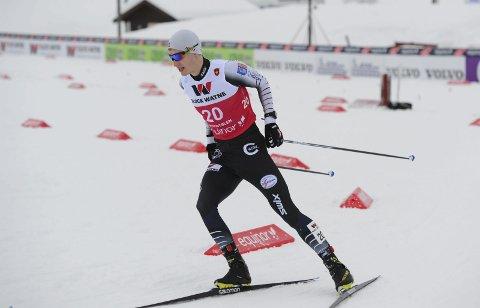 Emil Vilhelmsen fra Mosjøen håper på internasjonal deltakelse i vinter.