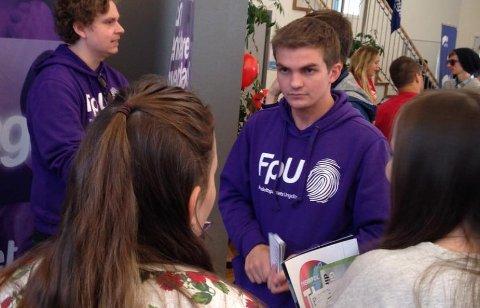 Tomas Børresen, formann i Finnmark FpU, gleder seg til Sylvi Listhaug kommer på besøk til Finnmark.