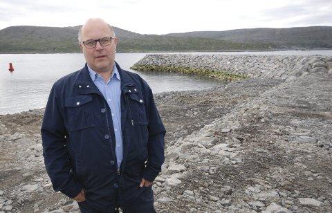 MER INNTEKTER: Trond Einar Olaussen er glad næringsdrivende vil satse i Gamvik, og konstaterer at Svein Vegar Lyder sine bedrifter vil gi mer skattepenger å bruke på innbyggerne.