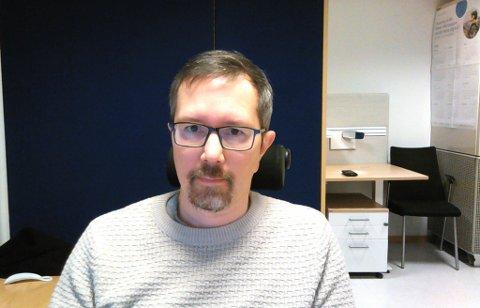 KOORDINATOR: Tom Olav Stavseth har rollen som vaksinekoordinator og forteller hvordan utrulleringa av vaksine i Troms og Finnmark blir.