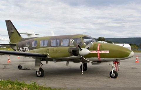 I ALTA: Dette flyet ble lagt merke til.